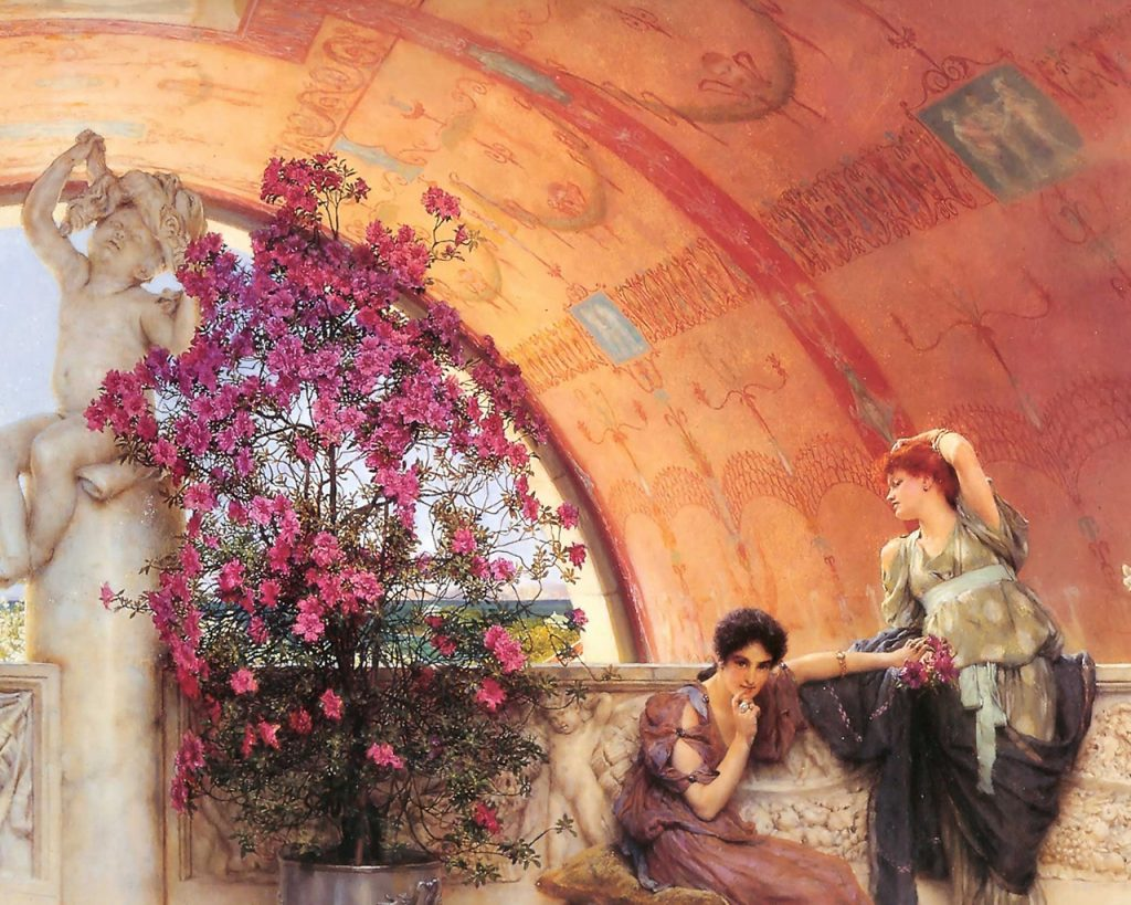 Alma-Tadema-Unconscious-Rivals-PIC-MCH039510-1024x819 Artistic Wallpapers For Laptop 39+