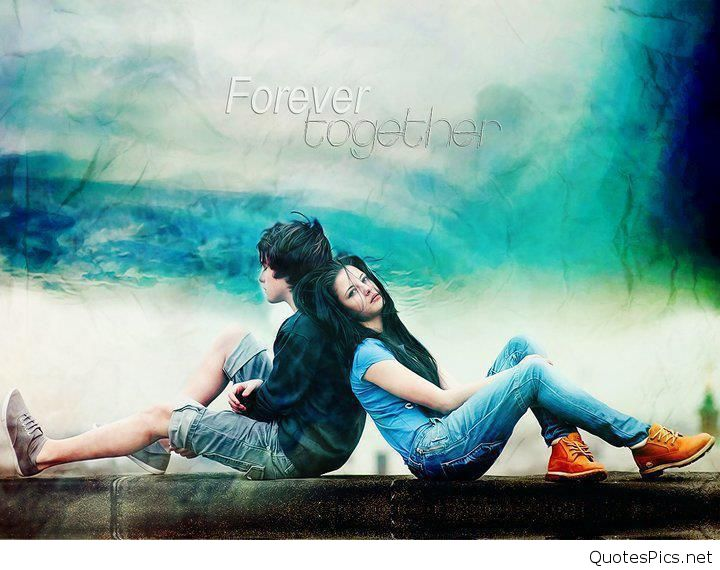 Beautiful Girl And Boy Forever Together Wallpapers PIC MCH044848