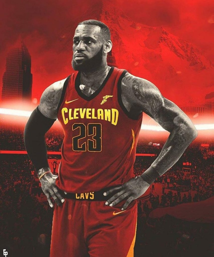 Cleveland Cavaliers New Jersey Looks Savage On Lebron James