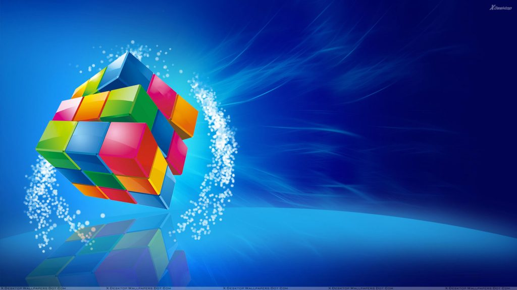 Color-Cube-On-Blue-Background-PIC-MCH053448-1024x576 Blue Color Hd Wallpaper 28+