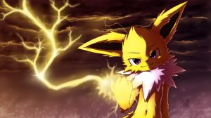 Jolteon Wallpaper Phone 12+