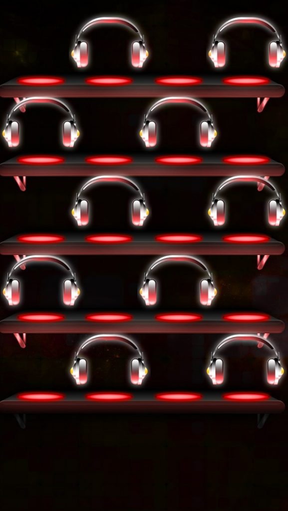 Music-Themed-Shelves-PIC-MCH088117-577x1024 Iphone 5 Christmas Shelf Wallpaper 37+