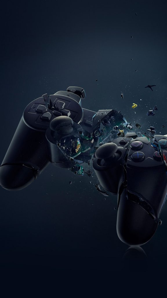 PS-Broken-Joystick-Illustration-Games-Art-Android-Wallpaper-PIC-MCH096337-576x1024 Artistic Wallpapers For Android 29+