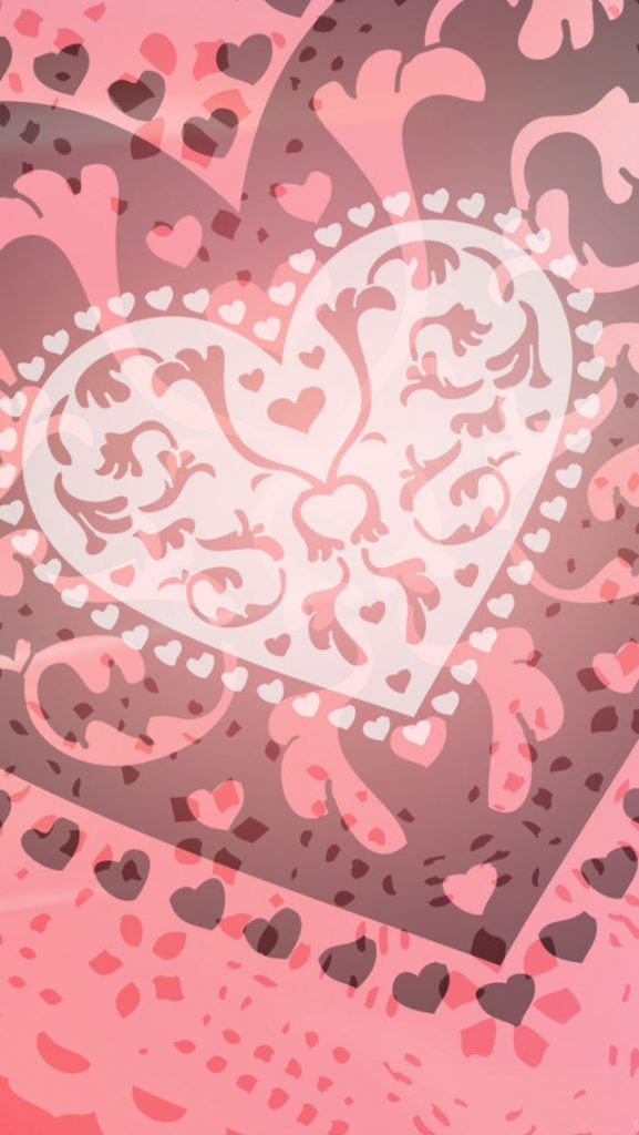 Pink-Heart-iPhone-Wallpaper-PIC-MCH095260-577x1024 Pink Hd Wallpapers For Iphone 39+