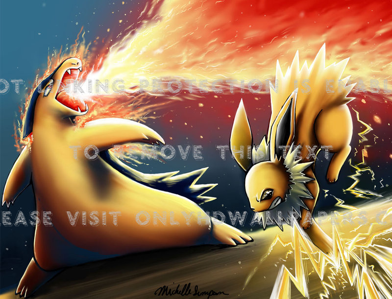 Pokemon-jolteon-QHA-PIC-MCH095832 Pokemon Jolteon Wallpaper 19+