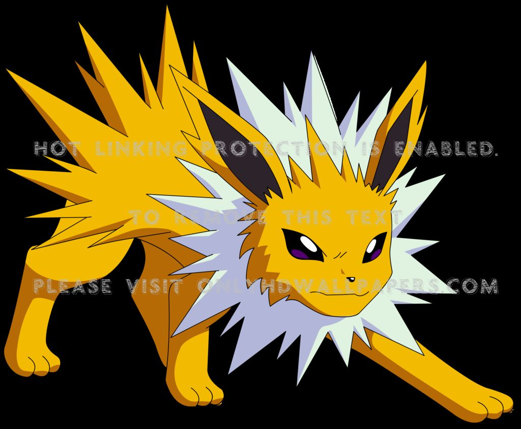 Pokemon-jolteon-black-background-znC-PIC-MCH095833-1024x842 Pokemon Jolteon Wallpaper 19+