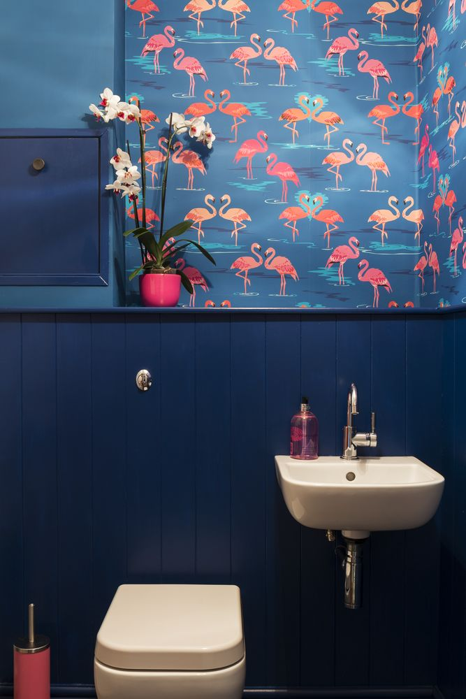 flamingo-wallpaper-PIC-MCH06205 Flamingo Wallpaper Bathroom 14+