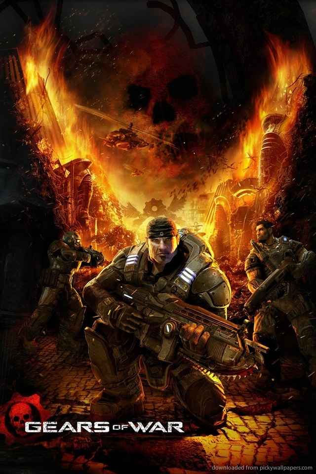gears-of-war-fire-v-PIC-MCH067986 Wallpaper Iphone Gears Of War 40+