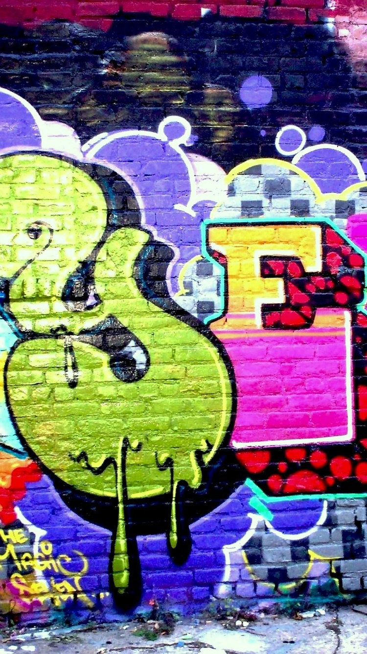 Graffiti Iphone Wallpaper Abstract Wallpapers F PIC MCH069381