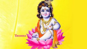 Cute Baby Lord Krishna Wallpapers 12+