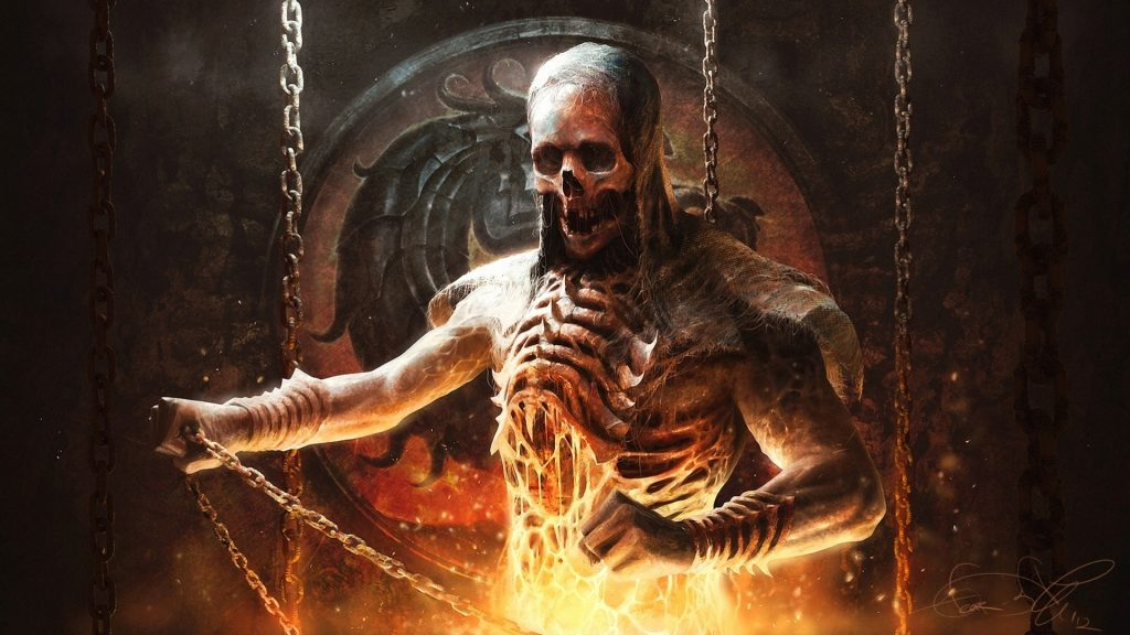 mortal-kombat-scorpion-skeleton-circuit-fire-PIC-MCH087334-1024x576 Scorpion Wallpaper Mortal Kombat 30+