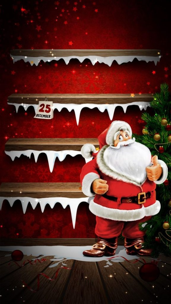 santa-claus-with-shelf-PIC-MCH0100363-577x1024 Iphone 5 Christmas Shelf Wallpaper 37+