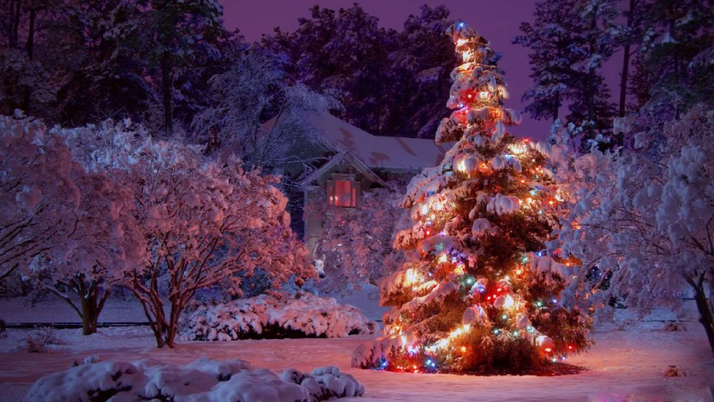 Christmas-Lights-Tree-HD-Wallpaper-PIC-MCH052604-1024x576 Christmas Light Wallpaper Hd 37+