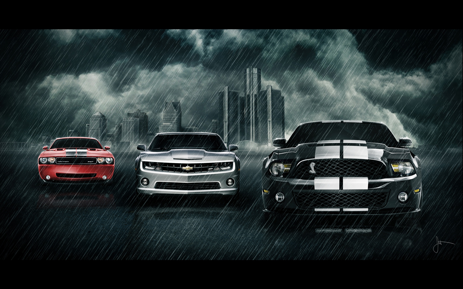 Cool Muscle Car Wallpaper With PIC
