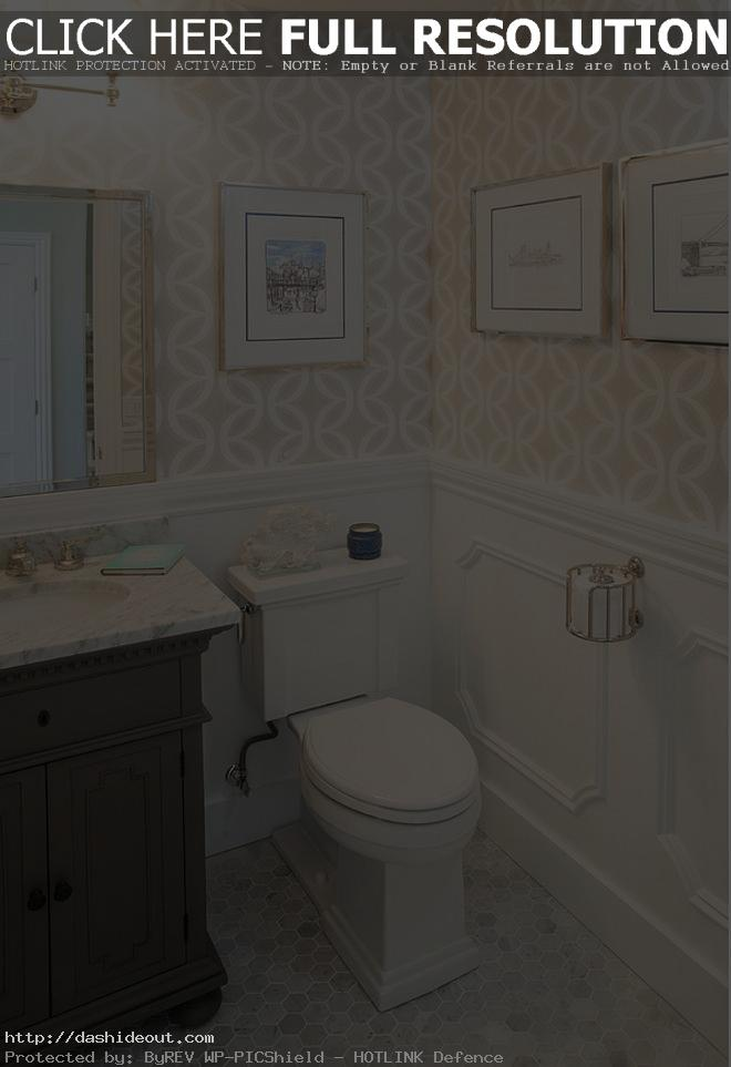 Designer-Wallpaper-For-Bathrooms-Photo-Of-exemplary-Ideas-About-Small-Bathroom-Wallpaper-On-Paintin-PIC-MCH057877 Half Wallpaper Half Paint Bedroom 9+