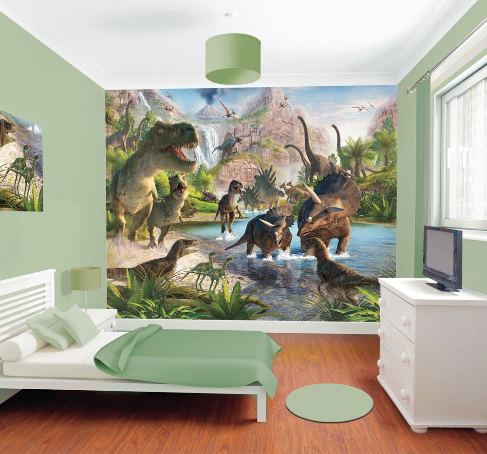 Dinosaur-Boys-wallpaper-murals-for-kids-bedroom-x-PIC-MCH058952 Mural Wallpaper Bedroom 16+