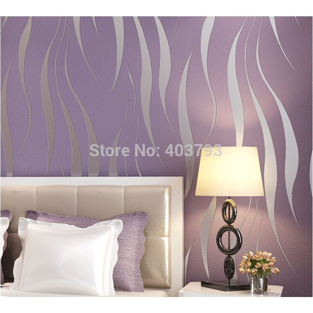 Modern-Minimalist-Striped-Wallpaper-Roll-Glitter-Flocking-For-Wall-paper-TV-Sofa-freeshippment-purp-PIC-MCH087044 Purple And White Striped Wallpaper 8+