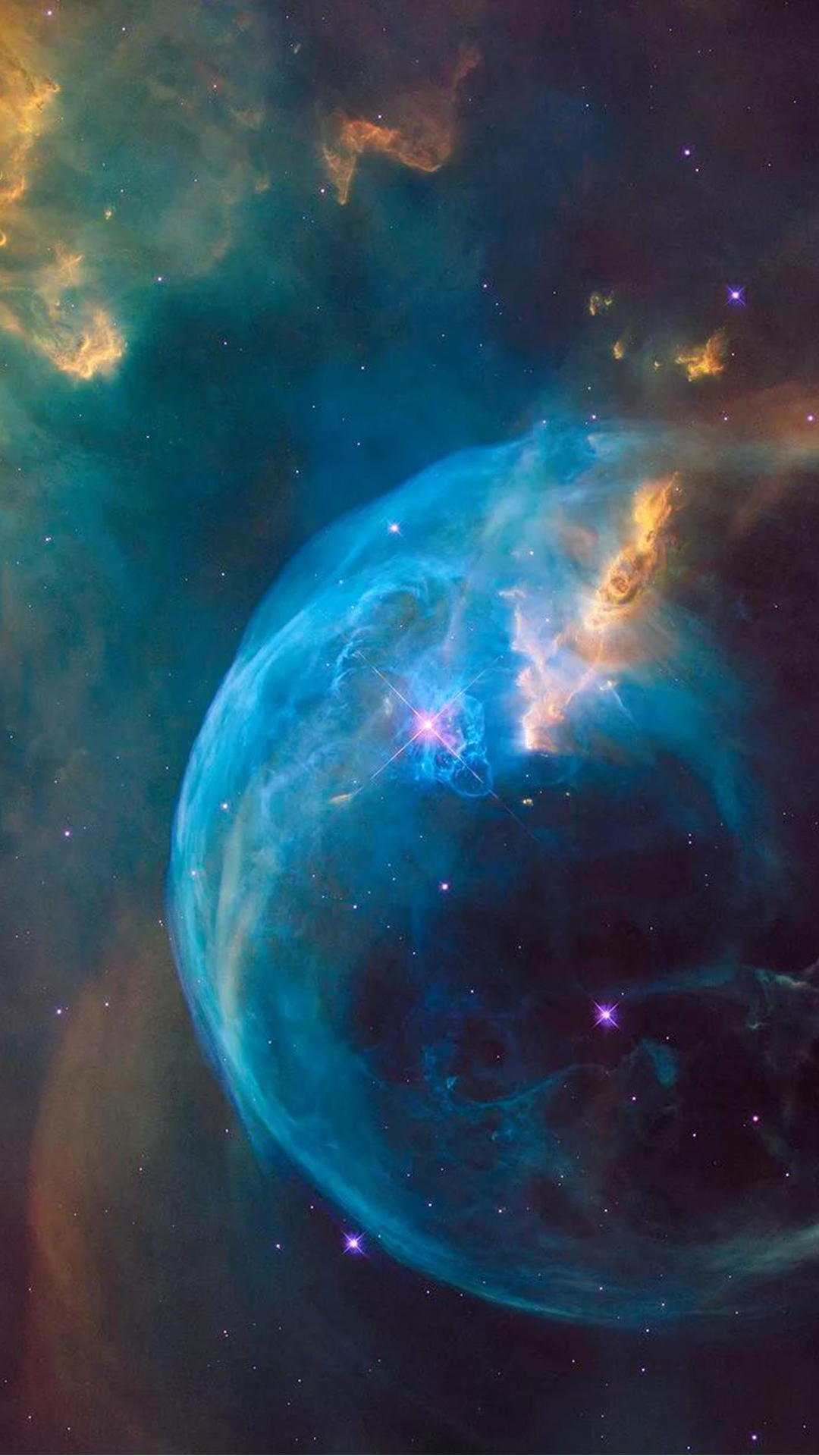 Supernova blue bubble explosion hubble android wallpaper free download voltagebd Images