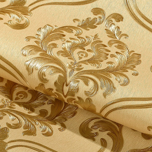 Sale-European-Simple-Luxury-Beige-Gold-Damask-Wallpaper-For-Walls-D-Classic-Deep-Embossed.jpg-PIC-MCH0100020 Damask Wallpaper Gold 14+