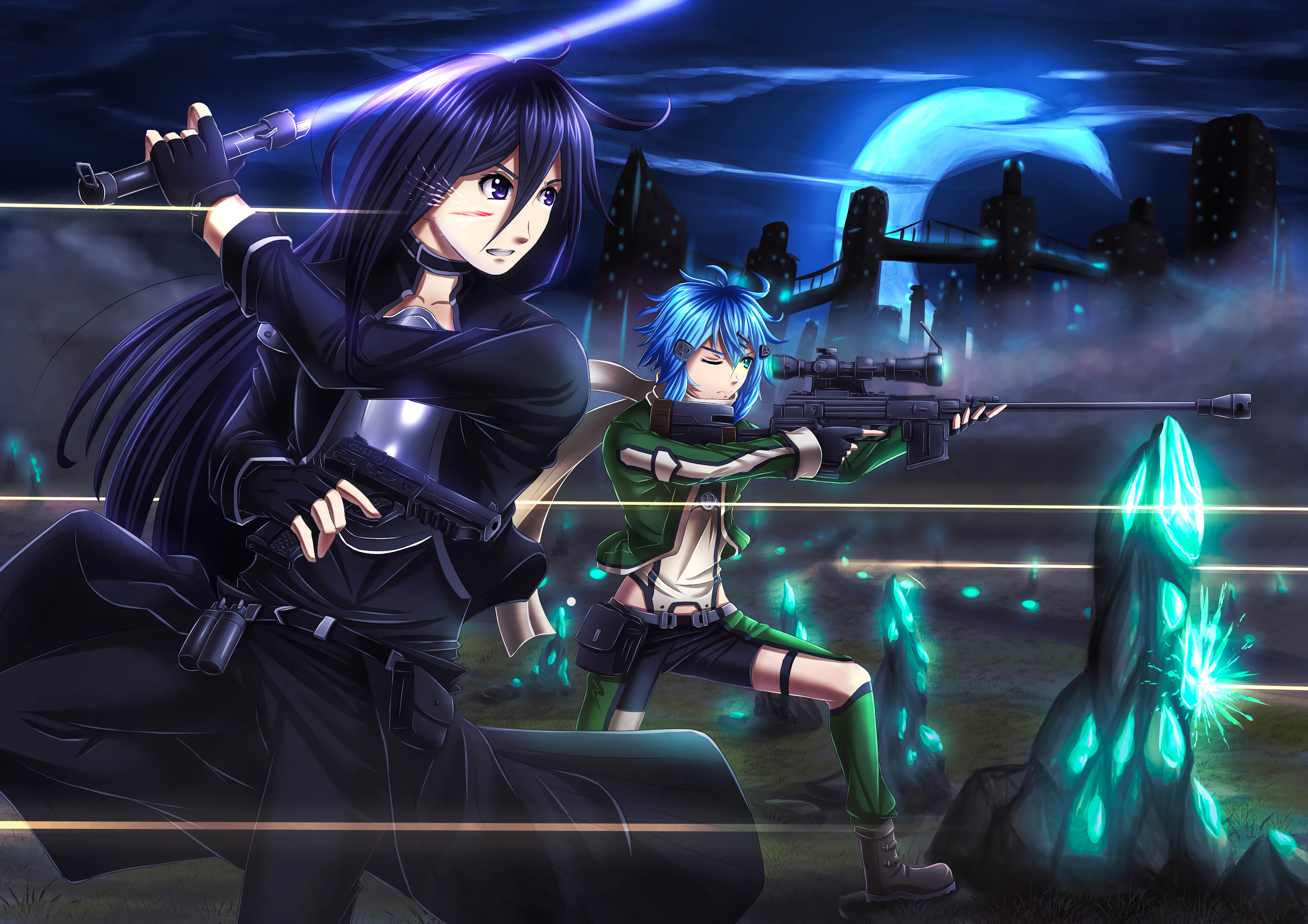 Image Result For Wallpaper Anime Sao Androida