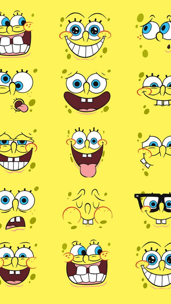 Spongebob-faces-Htc-One-M-wallpaper-PIC-MCH0103431-576x1024 Htc One M8 Wallpapers For Iphone 74+