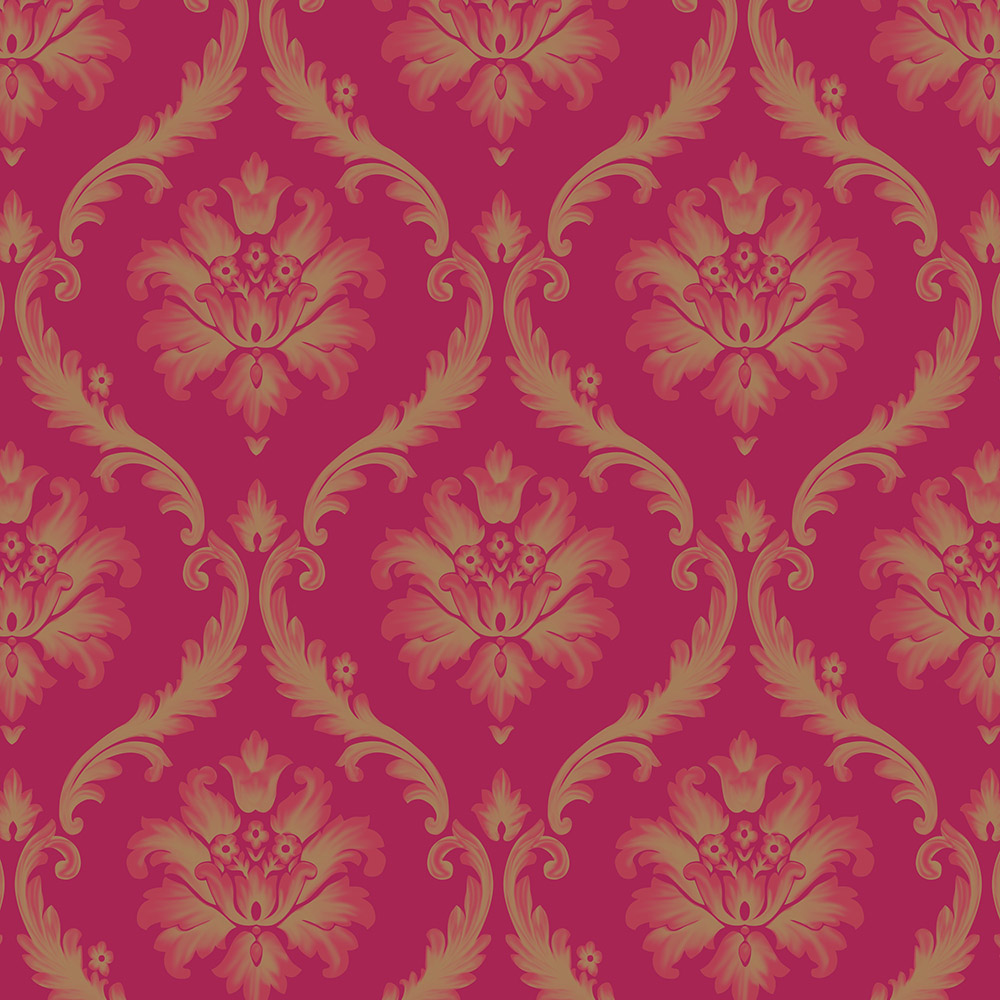 Wholesale-Classic-Wall-Paper-Wall-Damask-Wallpaper-Golden-Floral-Wall-Covering-D-Velvet-Living-Roo-PIC-MCH0116407 Damask Wallpaper Red 22+