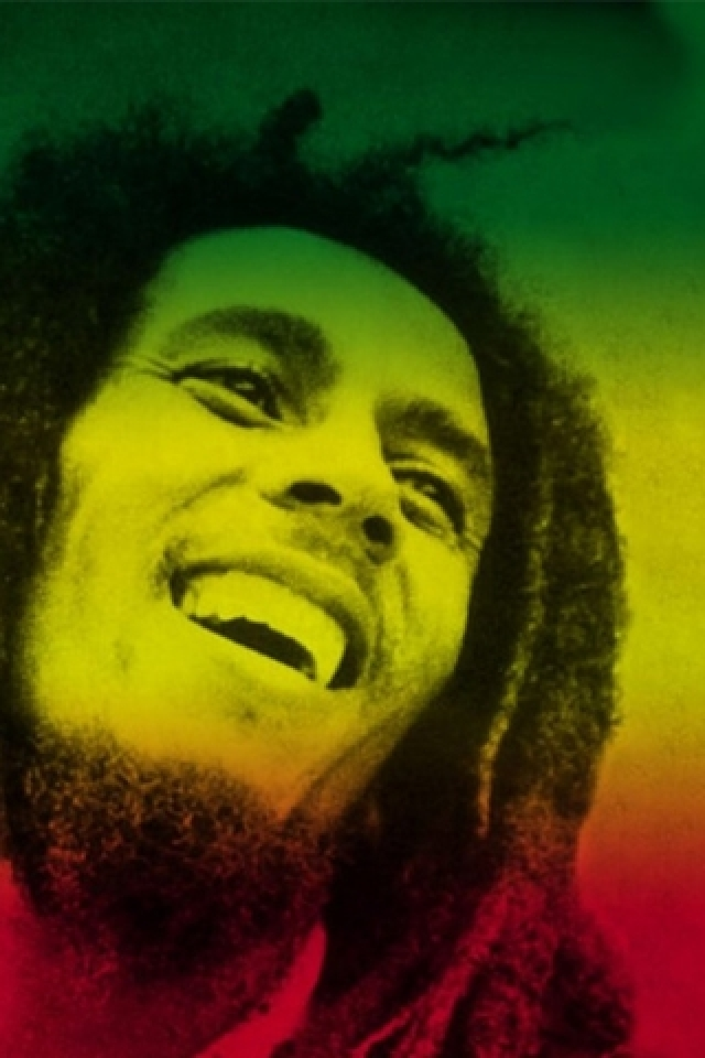bob-marley-rasta-colours-PIC-MCH049077 Rasta Wallpaper For Android 12+
