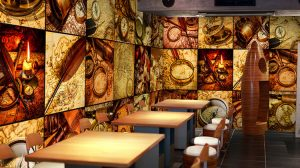 Restaurant Wallpaper 3d 45+