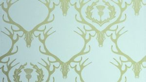 Damask Wallpaper Gold 14+