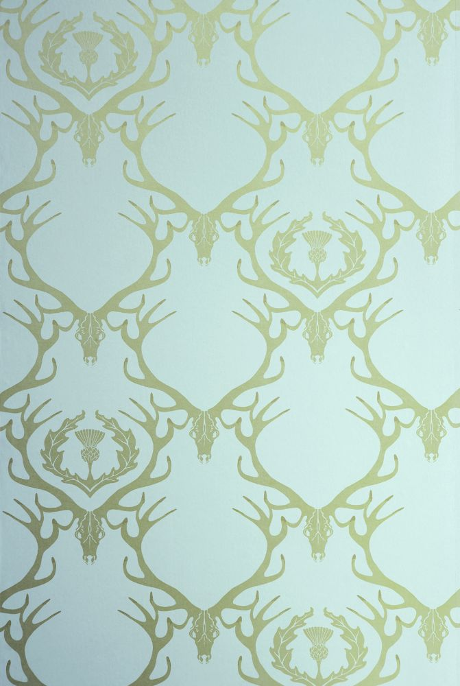 deer-damask-wallpaper-duck-egg-blue-antique-gold-barneby-gates-barneby-gates-clippings-PIC-MCH057384 Damask Wallpaper Gold 14+
