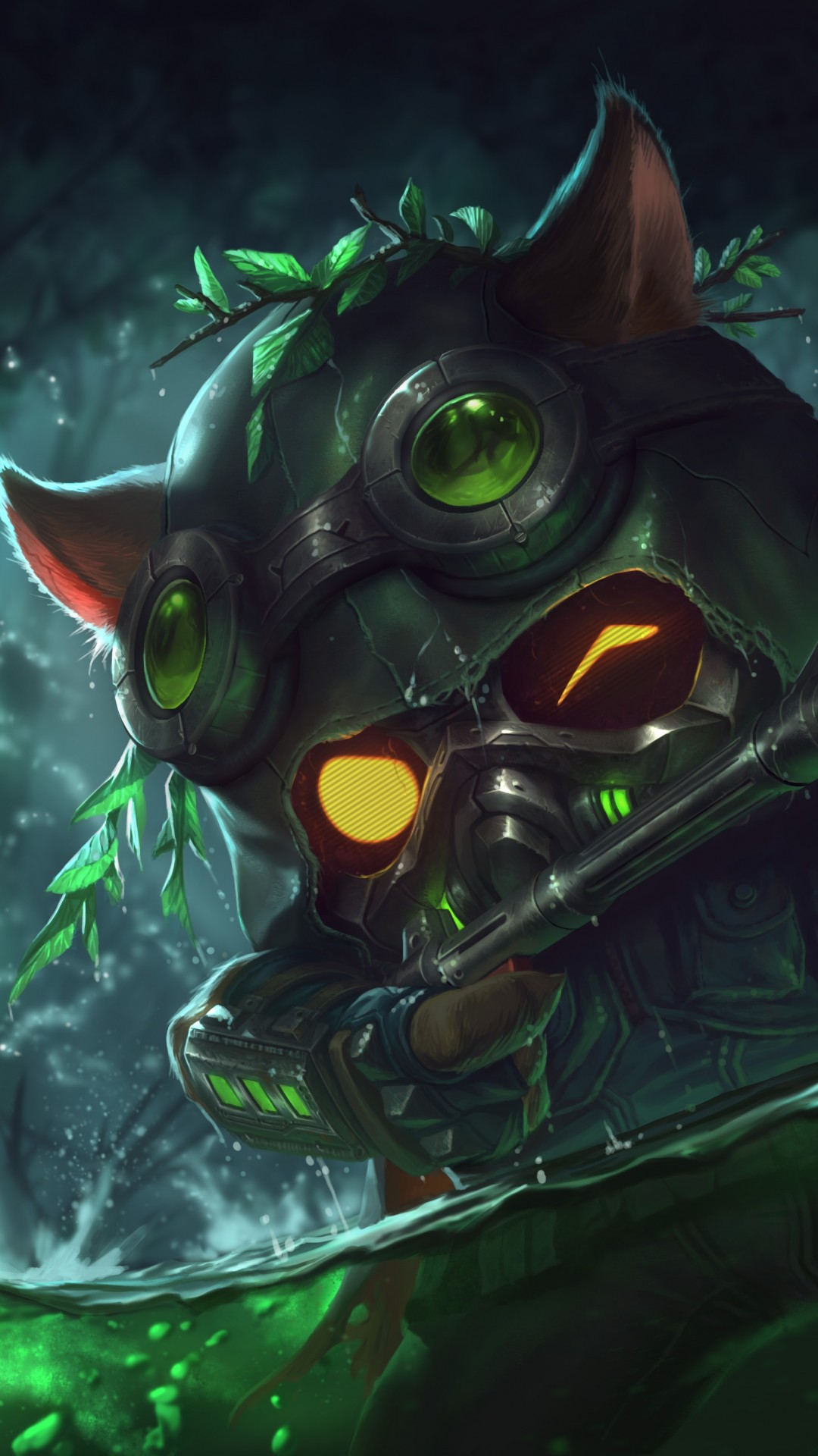 League Of Legends Teemo Artwork Gun Lol PIC MCH081645