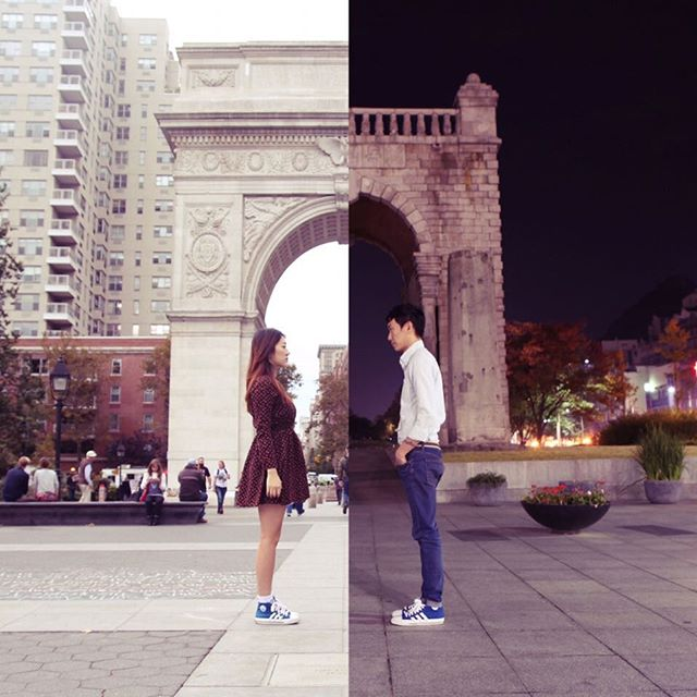 long-distance-relationship-korean-couple-photo-collage-half-shiniart-e-PIC-MCH082899 Half Wallpapers For Couples 14+