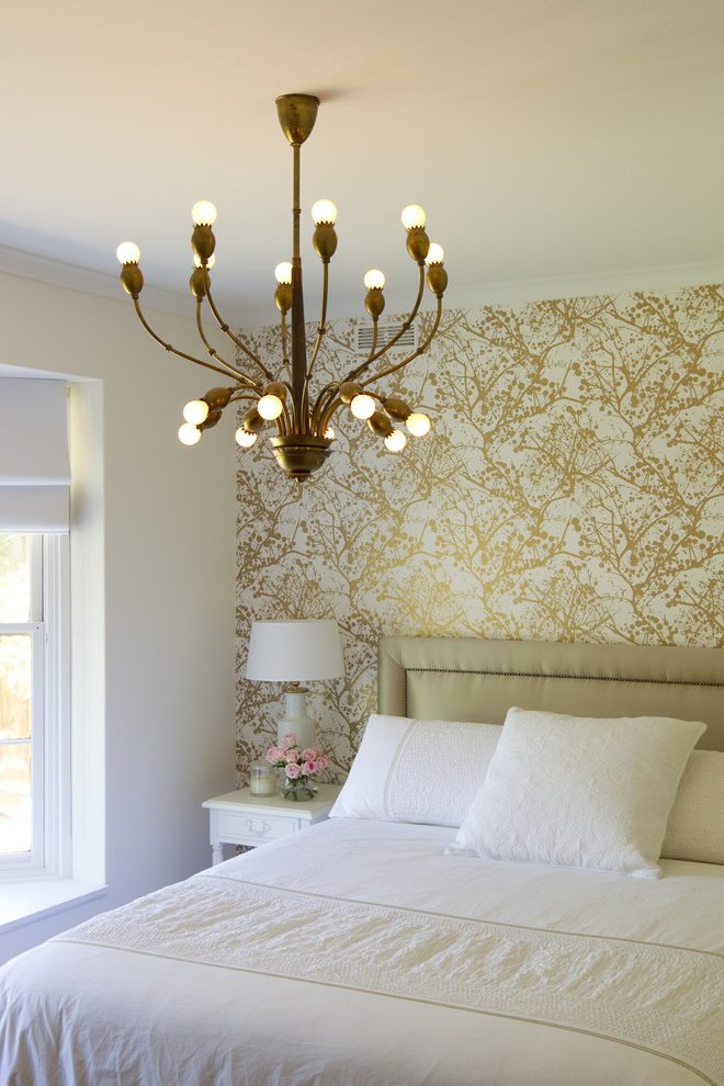 melbourne-pink-and-silver-damask-wallpaper-with-contemporary-bedroom-vintage-lighting-PIC-MCH085421 Damask Wallpaper Bedroom 28+