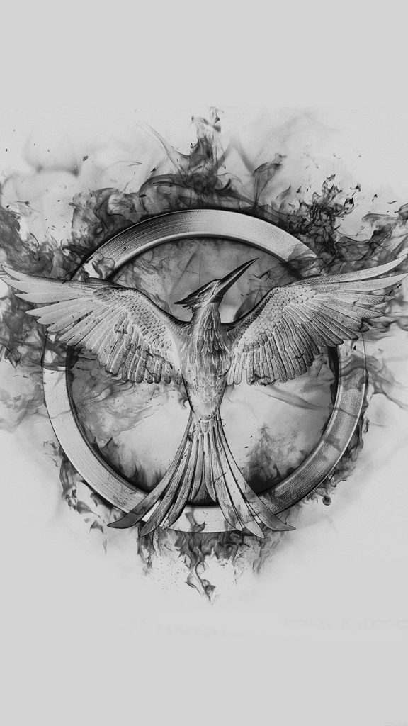 papers.co-ag-hunger-games-mockingjay-black-logo-art-iphone-plus-wallpaper-PIC-MCH093177-576x1024 Mockingjay Wallpaper Iphone 6 17+