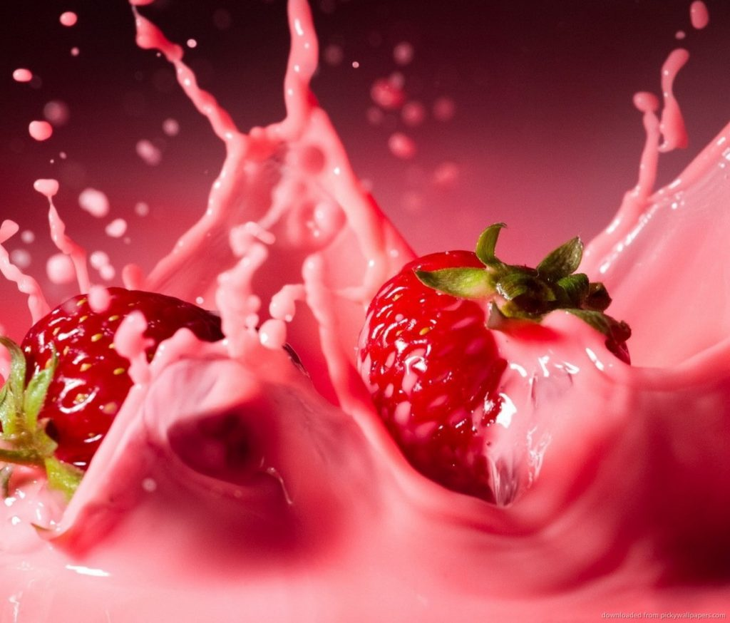 strawberries-in-pink-milk-PIC-MCH0104394-1024x874 Pink Hd Wallpaper For Samsung 45+