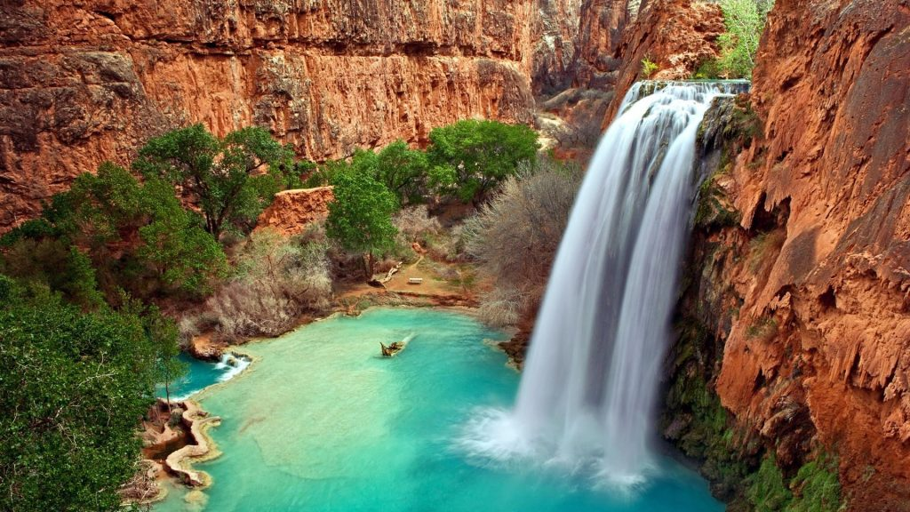 Beautiful-Australian-Waterfall-HD-Wallpaper-PIC-MCH045266-1024x576 Waterfall Hd Wallpapers 34+