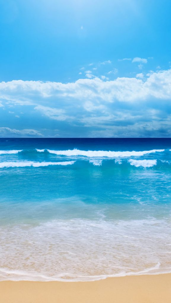 Blue-Beach-iphone-wallpaper-ilikewallpaper-com-PIC-MCH048096-577x1024 Sea Wallpaper Iphone 48+