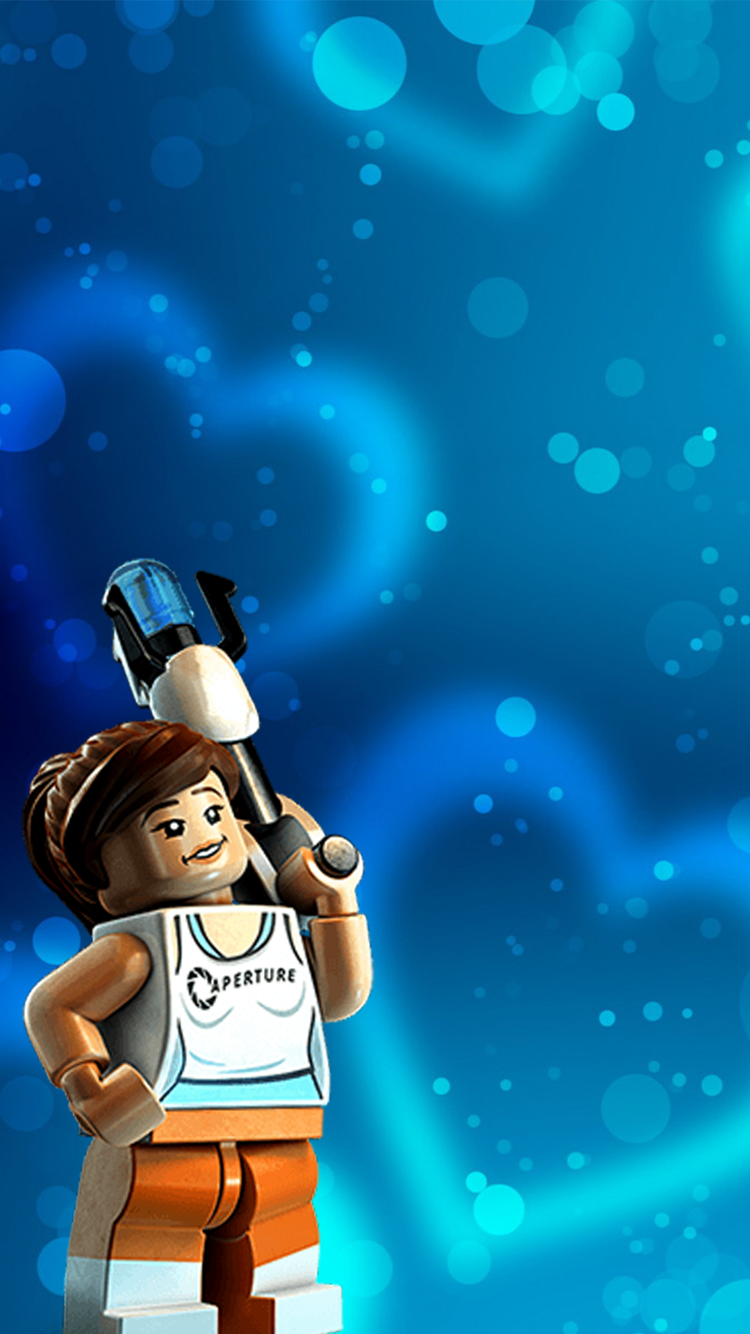 Chell Valentine Wallpaper Lego Dimensions PIC MCH052028