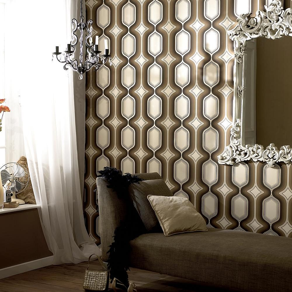 Exquisite-Drama-Boheme-Wallpaper-in-Chocolate-PIC-MCH062590 Is Wallpaper Out Of Style 36+