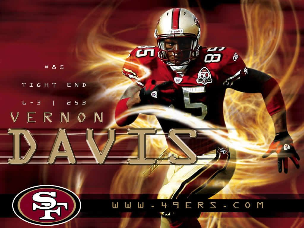 Free-Wallpapers-Official-NFL-Team-San-Francisco-ers-Vernon-Davis-x-PIC-MCH065986-1024x768 Free Nfl Team Wallpapers 30+