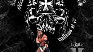 Triple H Wallpaper Logo 17+