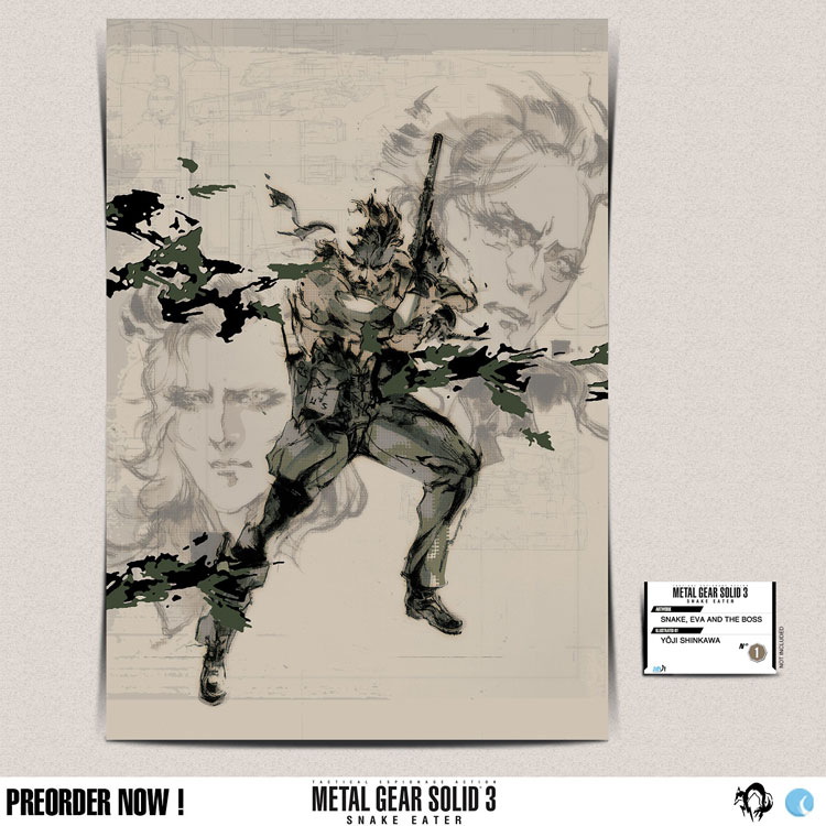 MGS-Yoji-Shinkawa-Artwork-Plexiglas-Snake-MGS-PIC-MCH085929 Mgs3 Art Wallpaper 21+