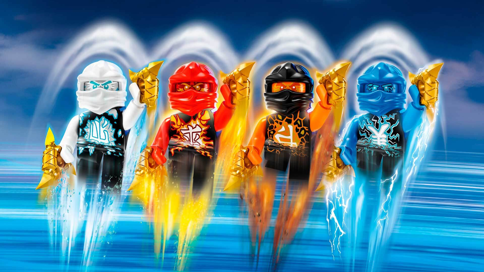 Ninjago Wallpaper For IPad HD PIC MCH090805