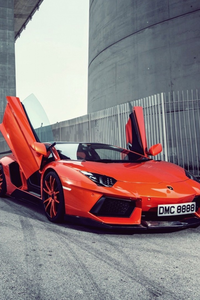Orange-Car-l-PIC-MCH029580 Wallpapers Of Cars For Mobile 26+