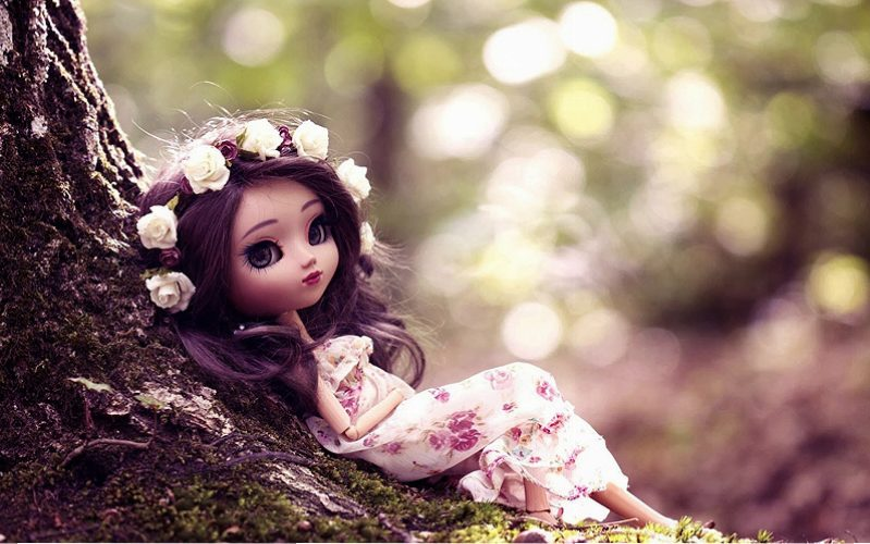 PIC-MCH015490 Wallpaper Baby Doll 15+