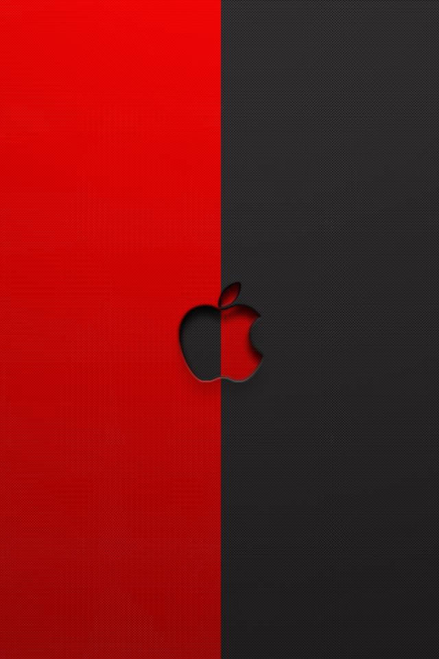 Red-and-Black-Apple-Logo-PIC-MCH098155 The Flash Live Wallpaper Iphone 21+