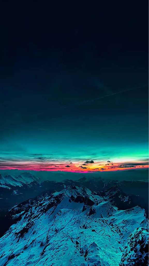 Sky-On-Fire-Mountain-Range-Sunset-iphone-wallpaper-ilikewallpaper-com-PIC-MCH0102030-576x1024 Best Wallpapers For Iphone 7 43+