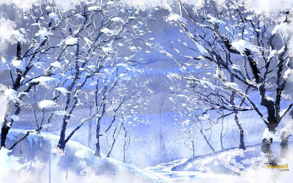 Snow-Wallpaper-Art-Design-PIC-MCH0102680-1024x640 Wallpaper Snowfall 40+