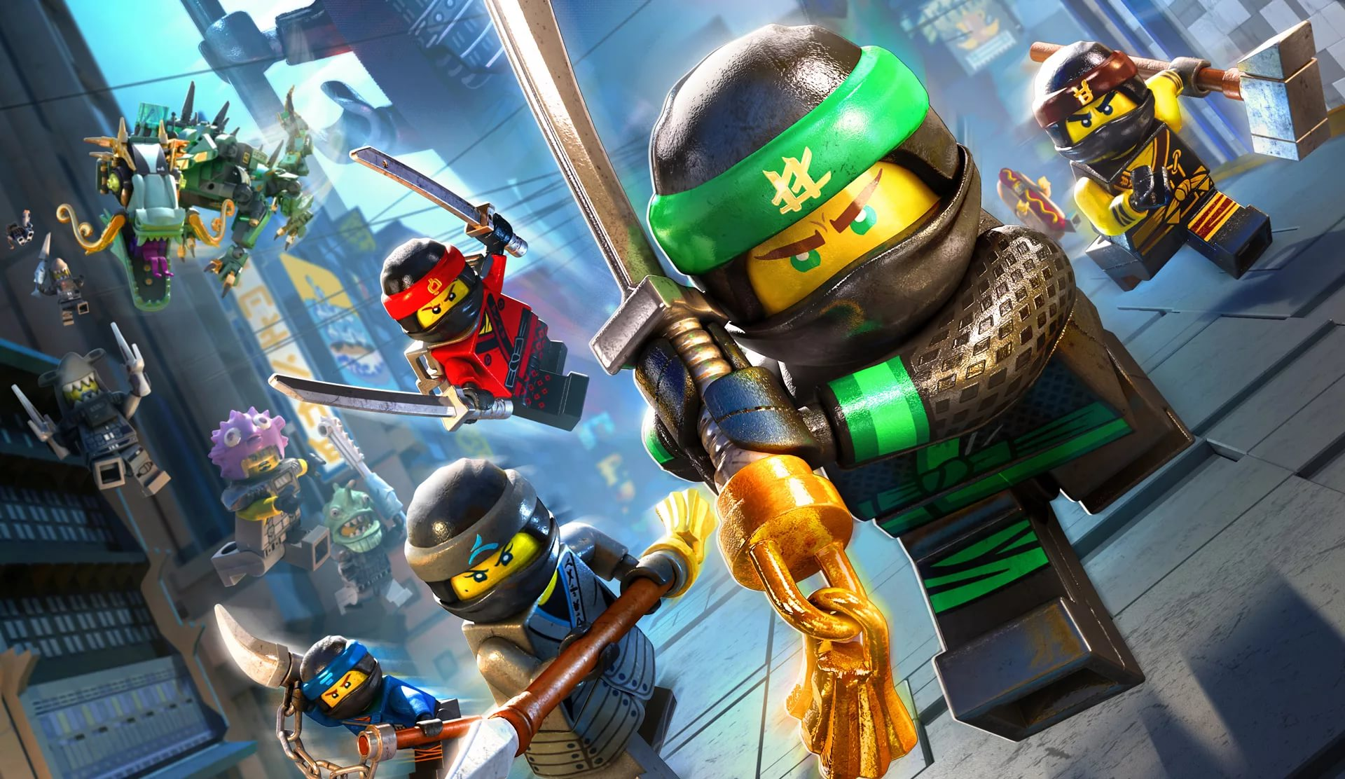 The LEGO Ninjago Movie Wallpapers And Backgrounds PIC MCH0106424