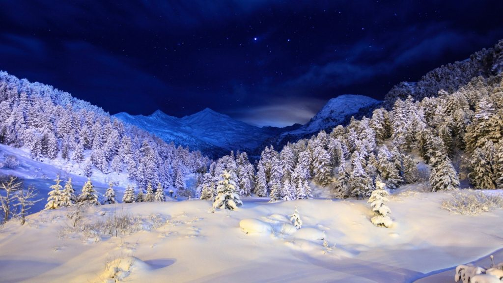 Wallpapers-Seasons-Winter-Sky-Forests-Snow-Night-Trees-Nature-x-PIC-MCH0115226-1024x576 Wallpaper Snow Night 41+